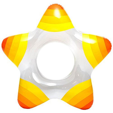 Intex Swimming Pool Big Inflatable Star Shaped Rings For Water Fun And Activities - halfrate.in