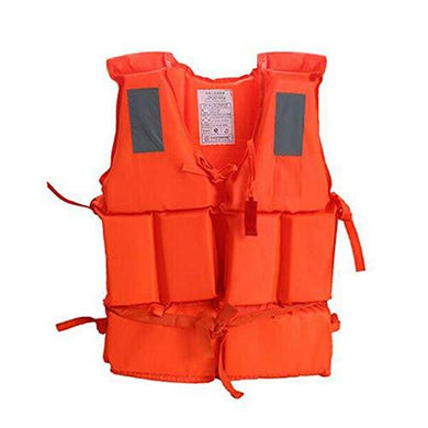 Life Jacket, Good Buoyancy Adult Floating Vest for Surfing, Boating, Sailing & Swimming Paddle Sports Buoyancy Safety Survival Aid Vest - halfrate.in