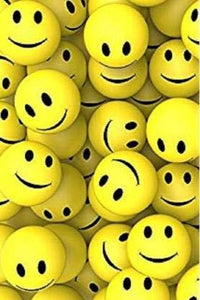 Smiley Face Squeeze Ball (Yellow) Set of 3 - halfrate.in