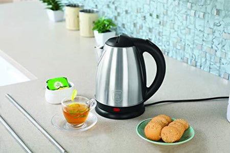 Clearline Appliances All Purpose SS Kettle with Auto-Shut-Off Feature (1.8 LTR) - Inox - halfrate.in