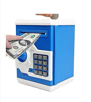 ATM Kids Piggy Savings Money Bank Money Safe with Electronic Lock Piggy Bank ATM with Password - halfrate.in