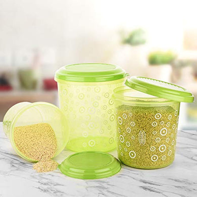 Asian Super Stylo Airtight Storage Big Containers Set of 3 + Set Of 3 (1000+1600+2500)