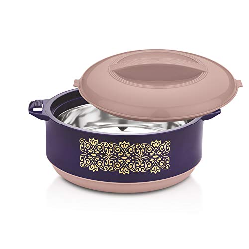 Asian Premium Family Inner Steel Casserole, 1000 ml, Blue