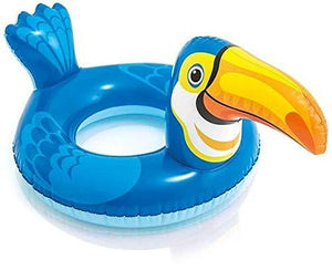 Intex Large bird shape  Inflatable Swim Ring Pool Water Paddling Float for Kids and Children Ages 3-6 Years Old Random Shaped - halfrate.in