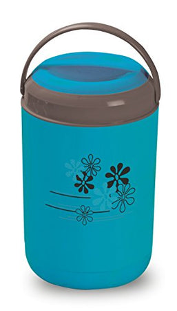 Asian Royal Thermo Plastic Lunch Box Set, 750ml, Set of 4, Blue