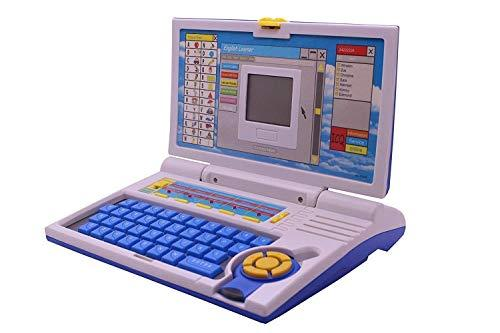 Educational English Learner Laptop with Mouse for Kids 20 Activity Games - halfrate.in