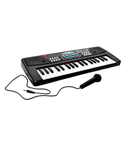 37 Key Piano Keyboard Toy with Dc Power Option, Recording and Mic for Kids - halfrate.in