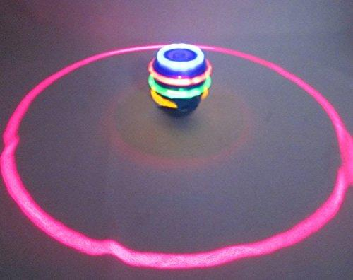 Laser Spinning Top with Music and Lightning Toy - halfrate.in