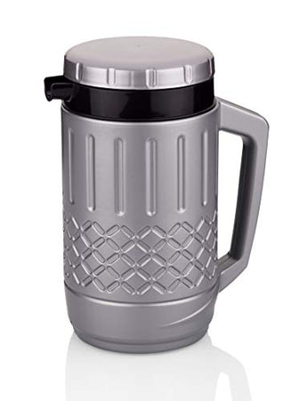 Asian Thermo TUFF HOT & Cold Insulated Water JUG 1000 ML, Mertalic Pearl