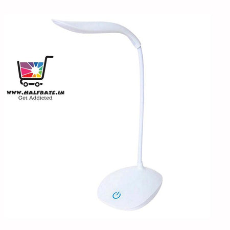 Rechargeable LED Touch On/Off Switch Desk Lamp Children Eye Protection Student Study Reading Dimmer Rechargeable Led Table Lamps USB Charging - halfrate.in