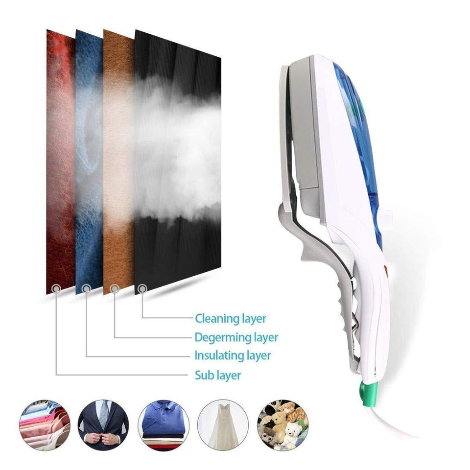 Portable Handheld Handy Hand Garment Steamer for Clothes, Garment Steamer Iron VTL 5102 900W - halfrate.in
