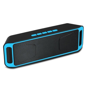 Ekdant® SC-208 Portable Wireless Bass Sound Bluetooth Speaker with FM | AUX/SD & USB Card Slot - halfrate.in