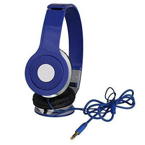 Ekdant® High Bass Solo Wired Mega Bass Series Stereo Sound Noise Cancellation On-Ear Headphones with Built-in Mic - halfrate.in