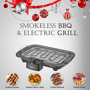 Clearline Stainless Steel Electric Grill - halfrate.in