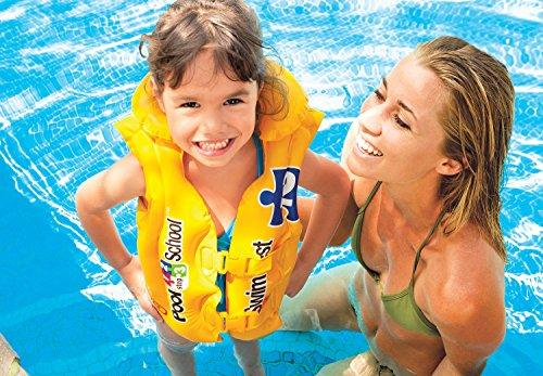Intex Pool School Deluxe Swim Vest - halfrate.in