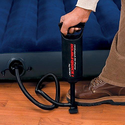 Intex Manual Hand / Foot Air Pump Black - halfrate.in