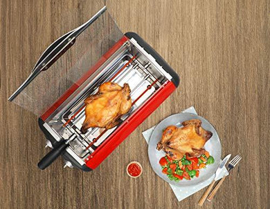 Clearline Appliances - Full Chicken Rotisserie Grill with Auto-Off Timer - halfrate.in
