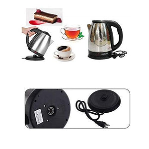 Automatic Stainless Steel Electric Elegant Design for Hot Water, Tea, Rice and Cooking Foods Kettle, 2 L - halfrate.in
