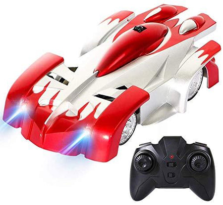 Wall Climbing Remote Control Unbreakable Cars for Kids Anti Gravity Wall Climbing Unbreakable Car with Remote Control(Assorted Color) - halfrate.in