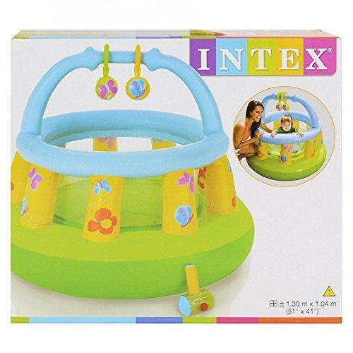 INTEX - Inflatable Baby Play Gym - Round - halfrate.in