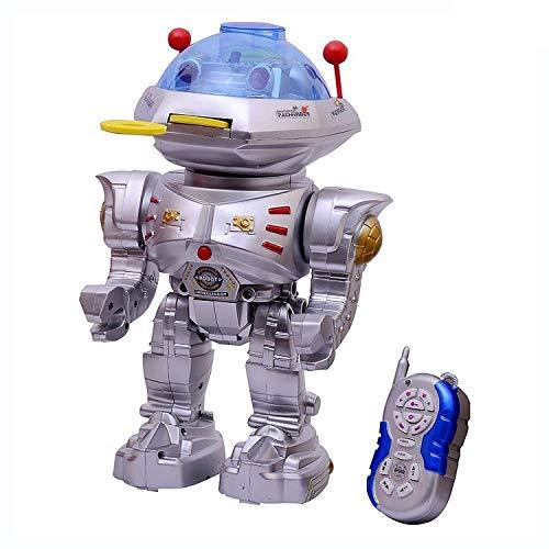 Remote Controlled Frisbee Throwing Wiser Robot Toys for Boys - halfrate.in
