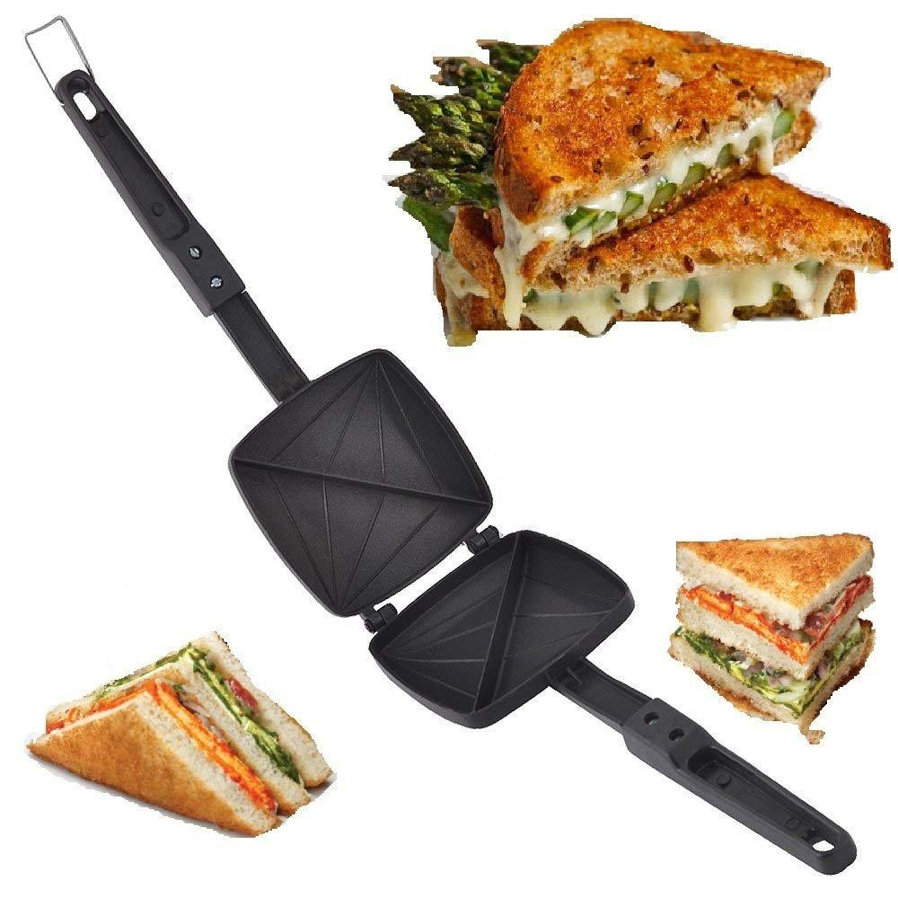 Non-Stick Gas Toaster Cum Sandwich Maker - halfrate.in