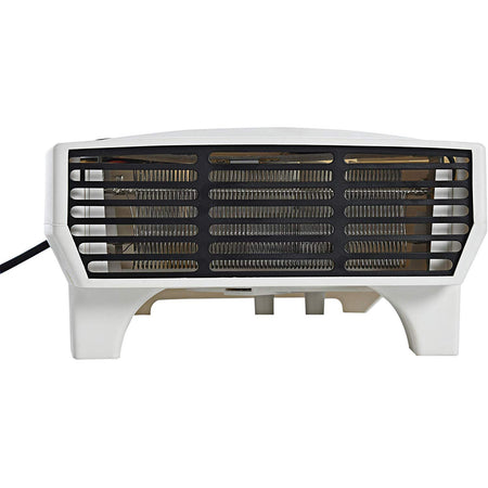 Room Heater Compact Shock proof Plastic Body 1000 / 2000 Watt Dual selection White colour, Ideal for small to medium room/area