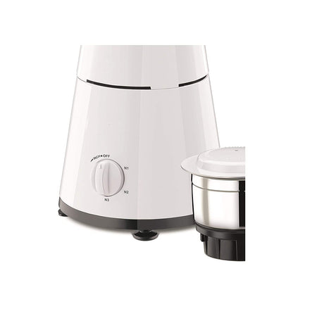 Heavy Duty Mixer Grinder with 3 Stainless Steel Jars Dome Cover 500 watt