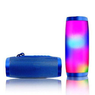 Ekdant® TG 157 Loudspeaker with Flash LED Disco Light Super Bass Splashproof Wireless Bluetooth Speaker Best Sound Quality Playing with Mobile/Tablet/Laptop/AUX/Memory Card/Pan Drive/FM - halfrate.in