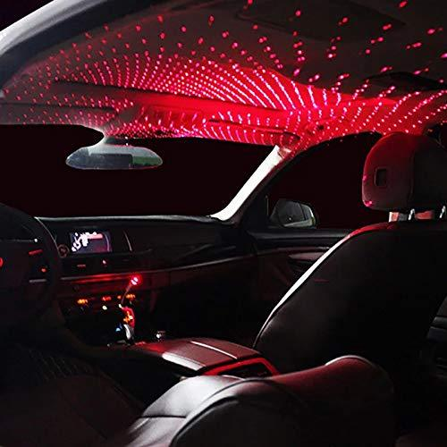 Ekdant® USB Atmosphere Ambient Star Light car Interior Lights LED Decorative Box car roof Full Star Projection Laser car Interior - halfrate.in