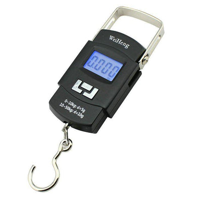 Weighing Scale 50kg Digital Heavy Duty Portable For Kitchen /luggage Pocket - halfrate.in