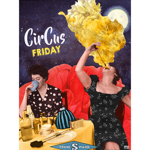 Affiche - Circus friday