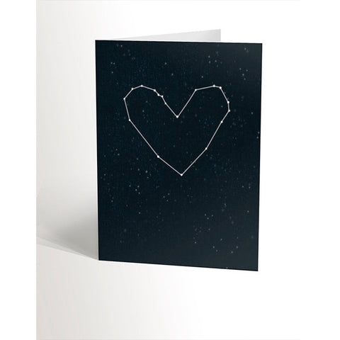 Carte - Constellation coeur