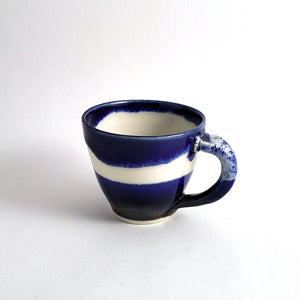 Tasse espresso - Collection bleue