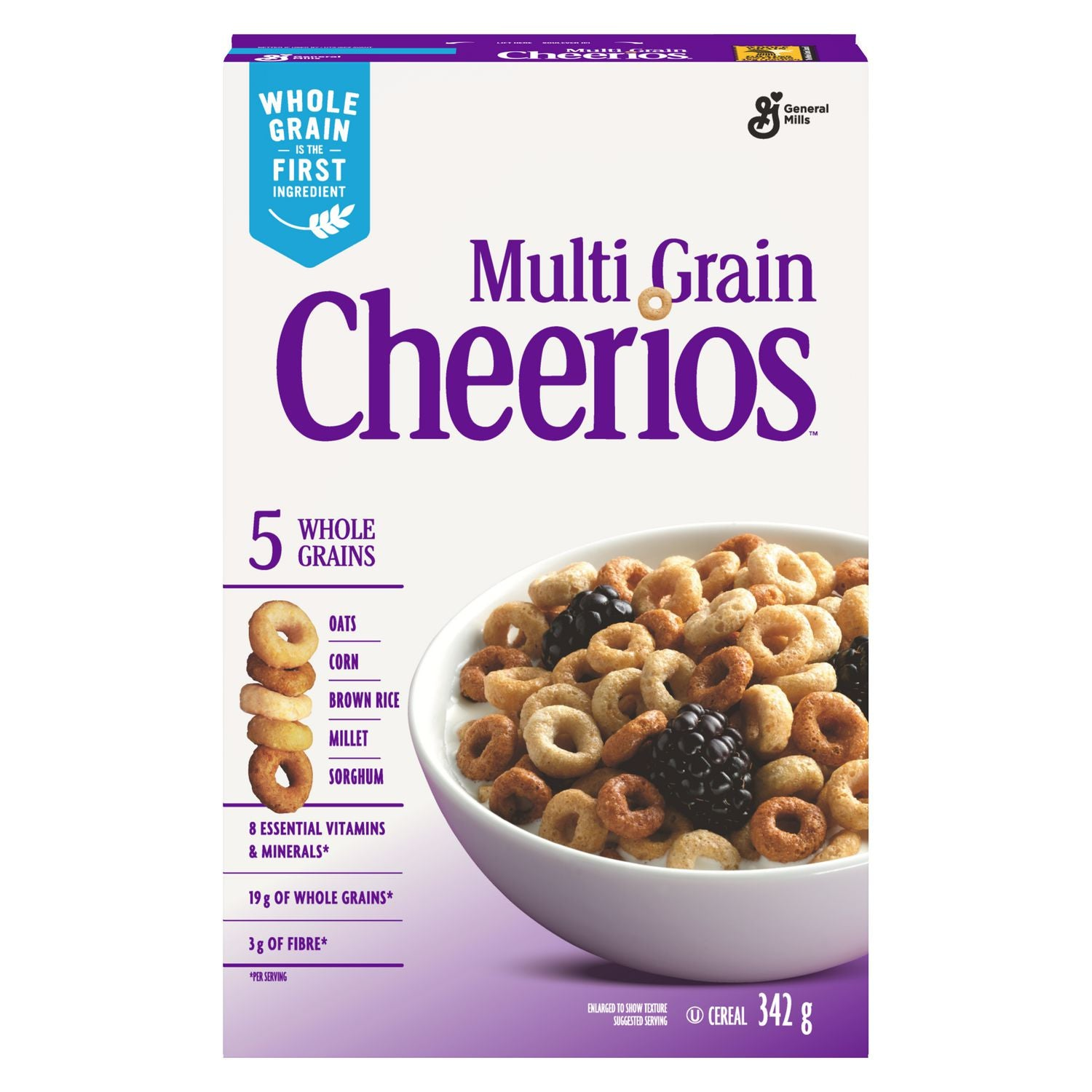 Multi Grain Cherrios Cereal