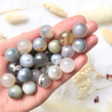 Mini Agate Spheres