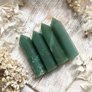 Green Aventurine Points