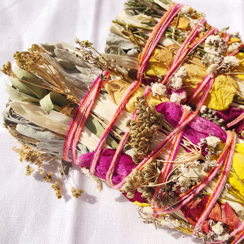 Fertility, Creation & New Beginnings Smudge Stick