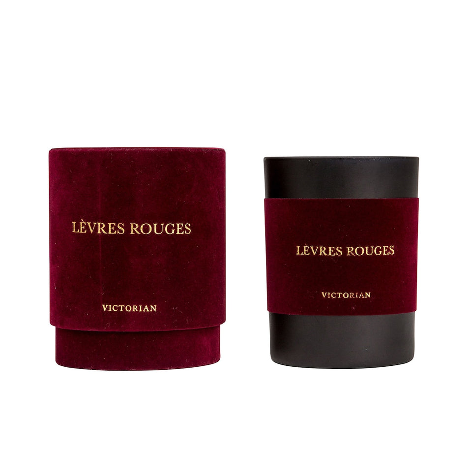 Velvet Scented Candle, Levres Rough