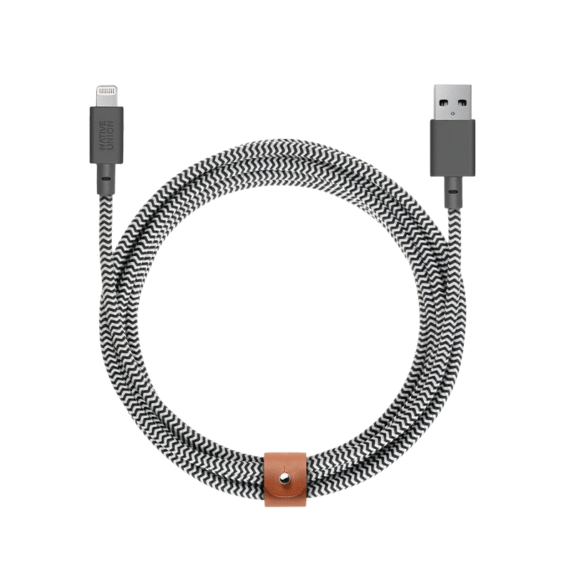 BELT CABLE XL USB-A to Apple Lightning