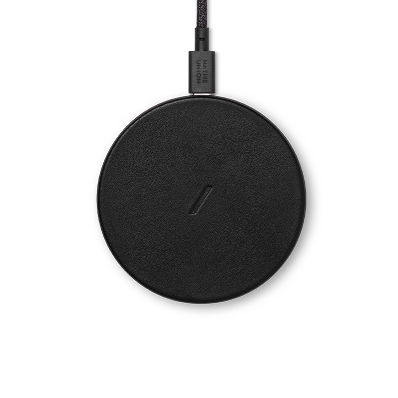 DROP CLASSIC LEATHER WIRELESS CHARGER