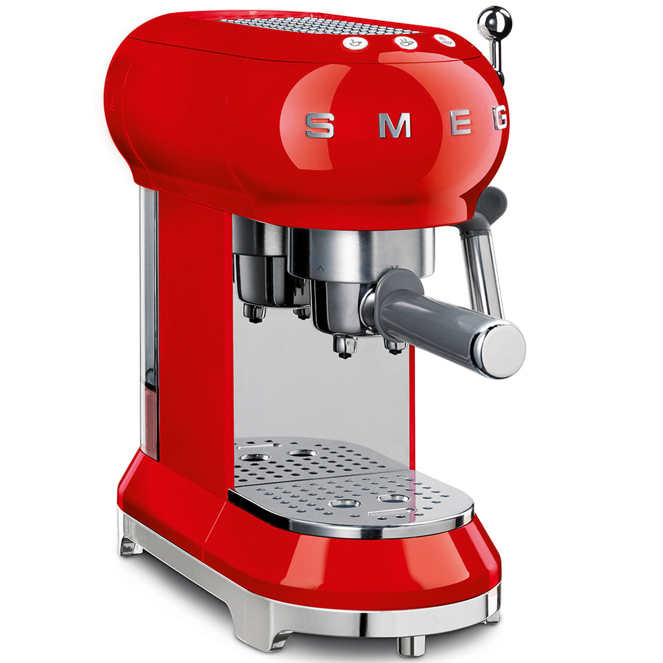 SMEG-Espresso Coffee Machine 50's Style