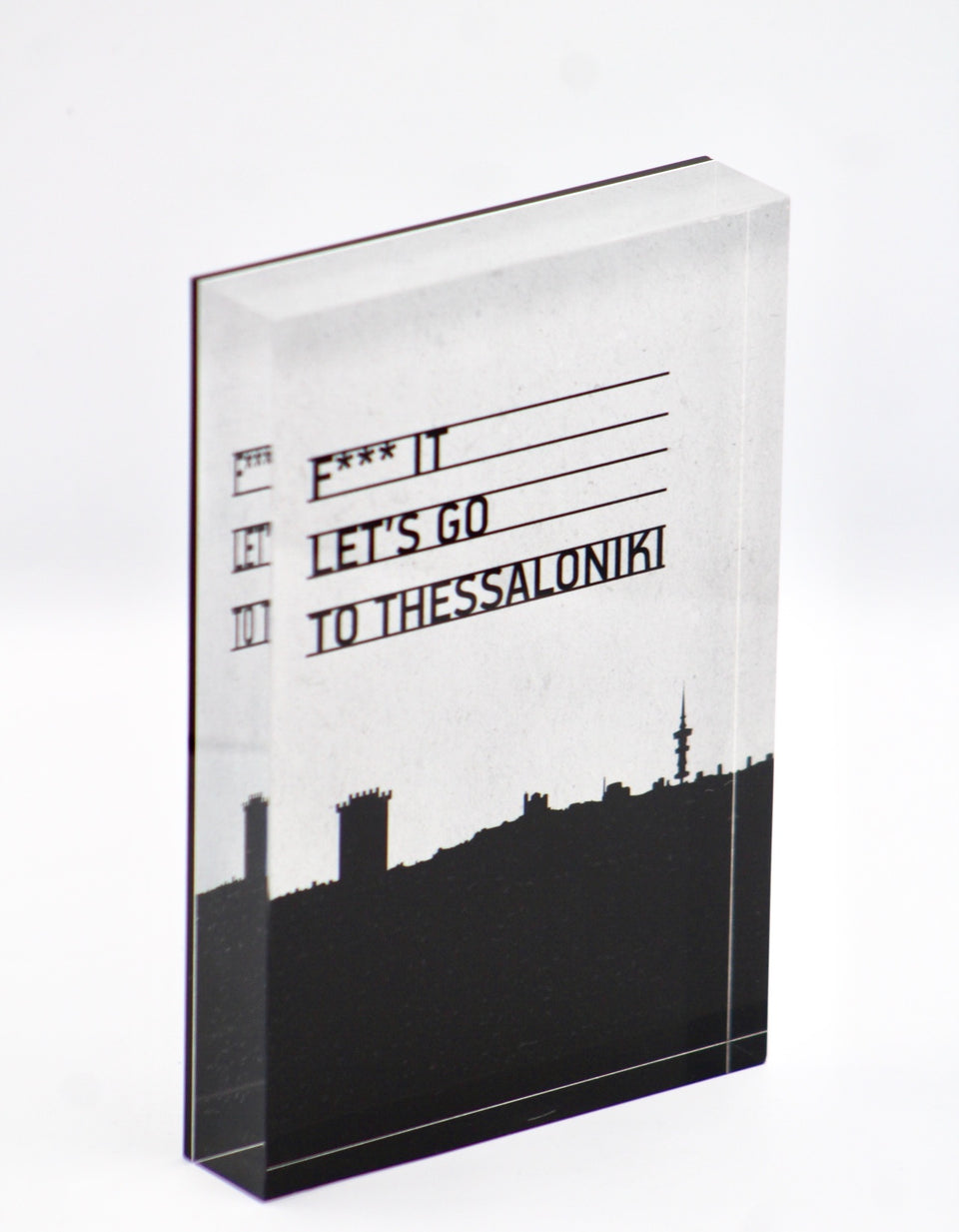 Let's go to Thessaloniki design object