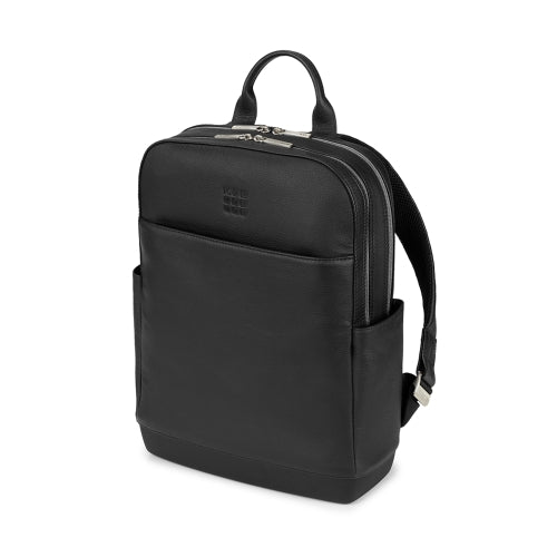 MOLESKINE CLASSIC LEATHER PRO BACKPACK - BLACK