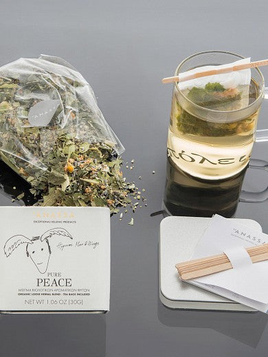 "Blend of organic herbs ""Pure Peace"""