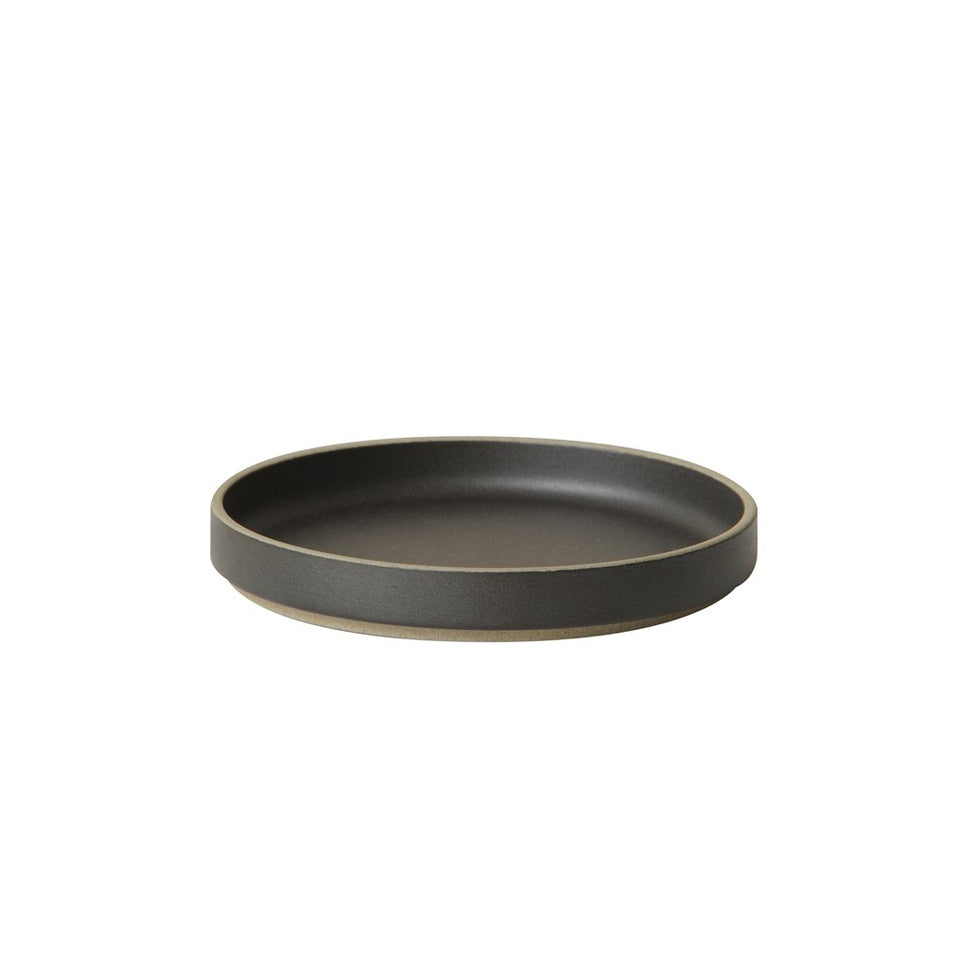 Small Hasami Plate Black