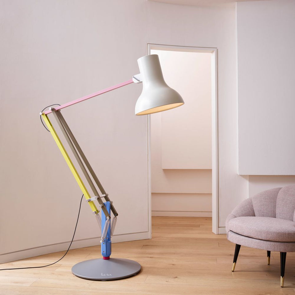 ANGLEPOISE Type 75 Giant Floor Lamp - Paul Smith Edition