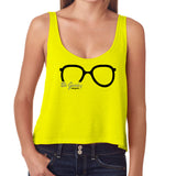 Yellow Be Geeky #BeYOU Boxy Tank Top