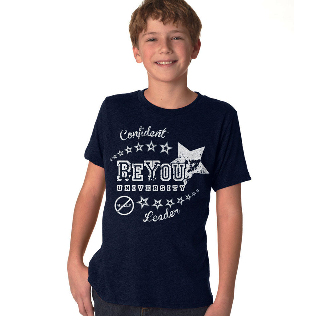 Navy BeYOU University T-Shirt