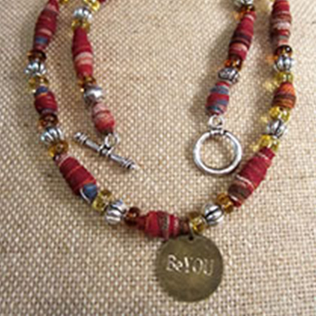 Jewelry #BEYOU Hand Beaded Necklace
